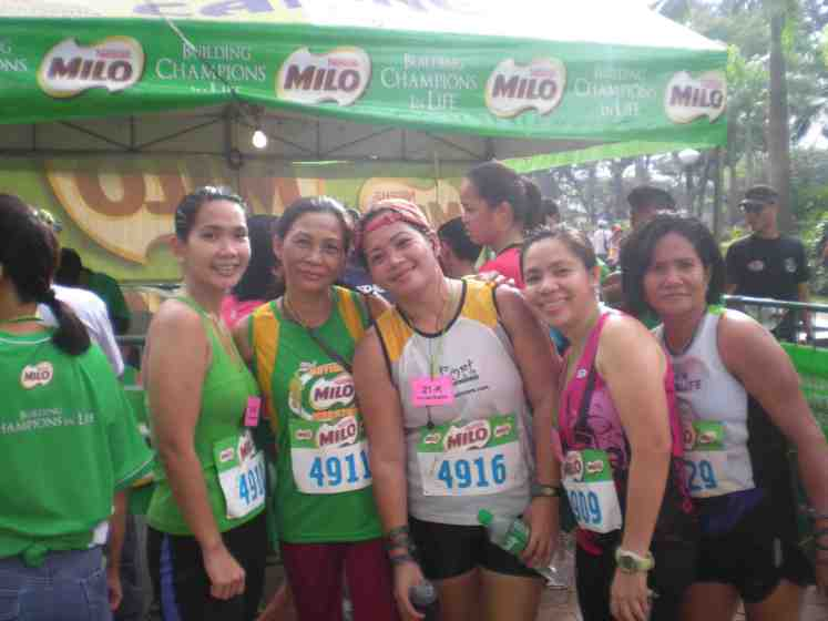 with the ladies of Fort Striders