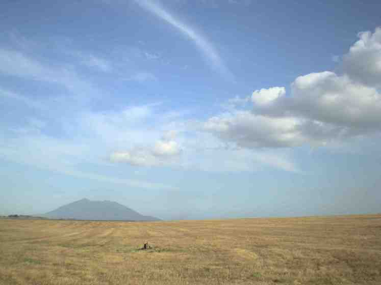 Mt Arayat on my route
