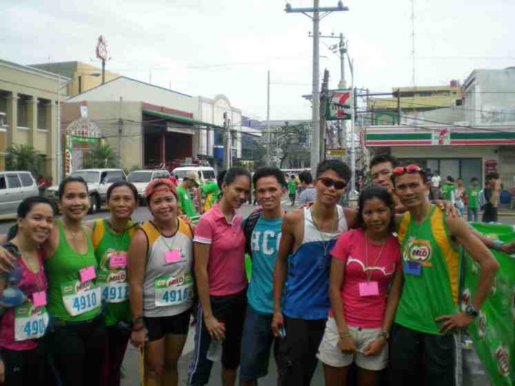 Vicky and I with rest of the Batangas leg winners