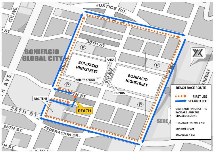 REACH RACE MAP